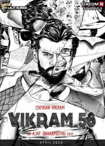 Chiyaan Vikram 58 shoot from 4th Oct