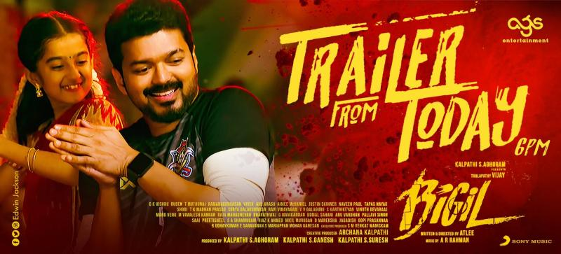 Bigil Trailer From Today