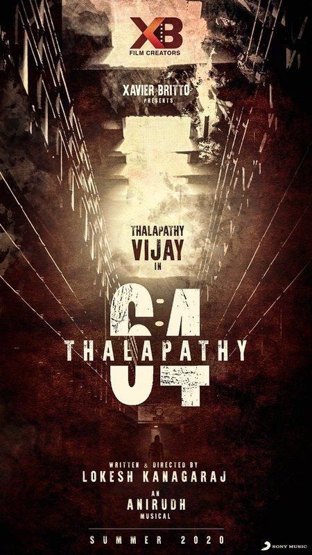 Thalapathy 64 : Vijay, Vijay Sethupathi, Malavika Mohanan, Antony Varghese and Shantnu