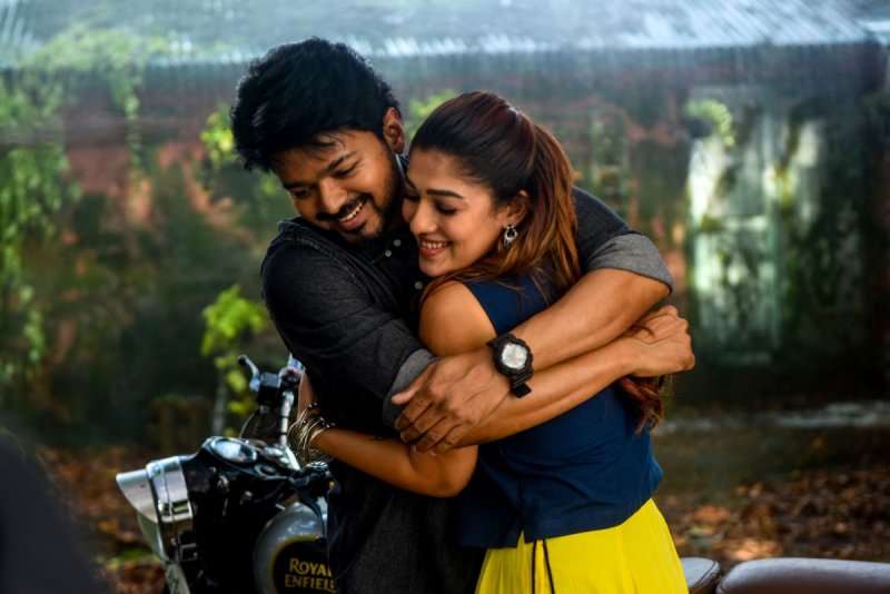 Bigil Movie New Photos : Vijay,  Nayantara