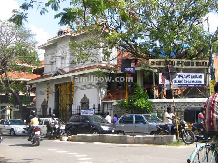 Ayyappan temple anna nagar