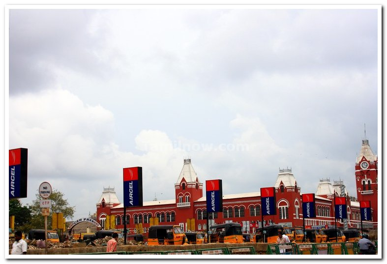 Chennai central long shot