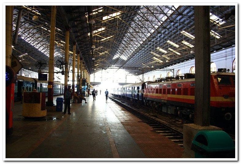 Chennai central platforms