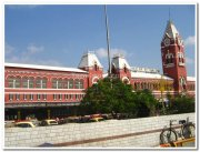 Grand old chennai central station