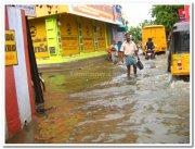 Cehnnai flooded streets