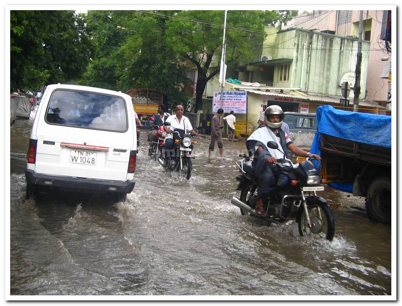 Chennai flood 2008