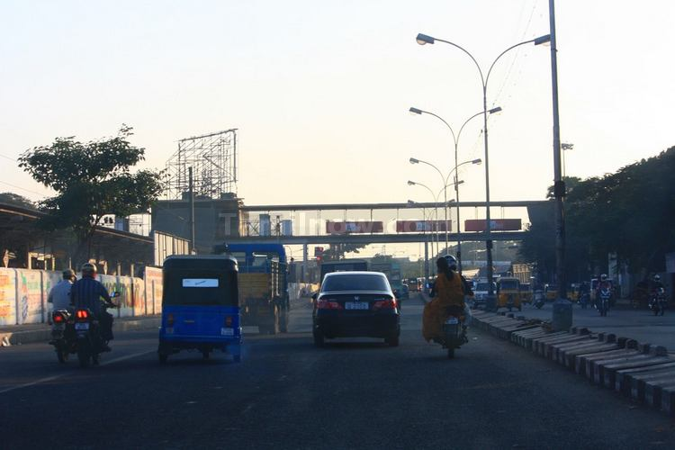 Road near fort station