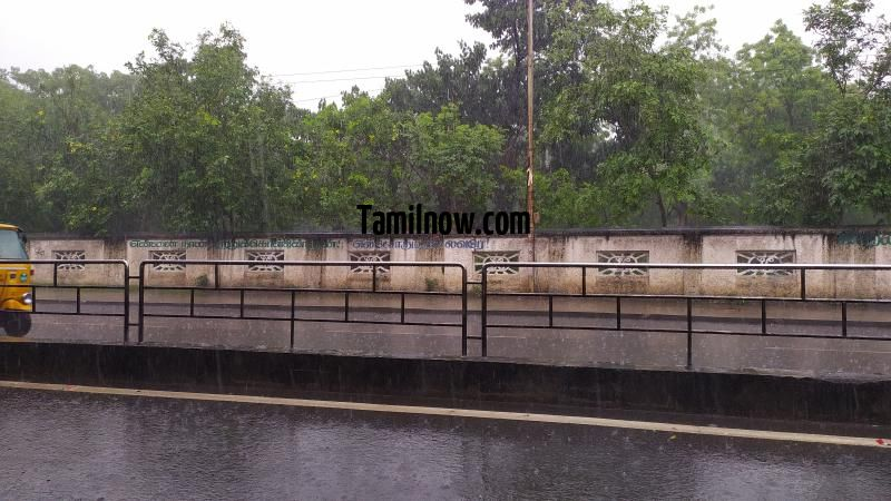 Chennai rain photo 04 near loyola college 794