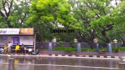 Chennai rain photo 11 valluvar kottam bus stop 251
