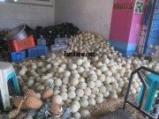 Muskmelons pineapple for sale at koyambedu fruits market 977