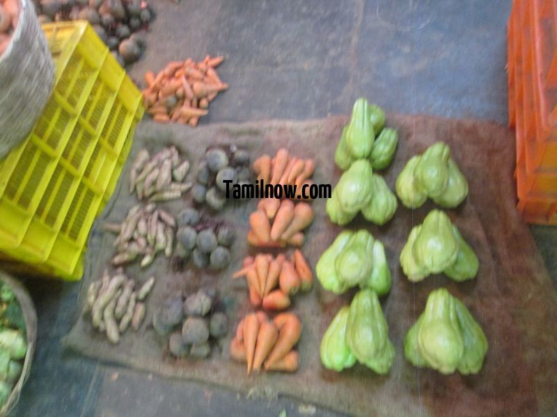 Small vendors selling vegetables 127