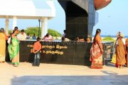 Anna memorial at marina beach 2