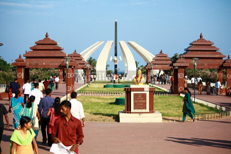Mgr memorial at marina beach 1