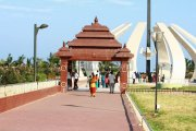 Mgr memorial at marina beach 3