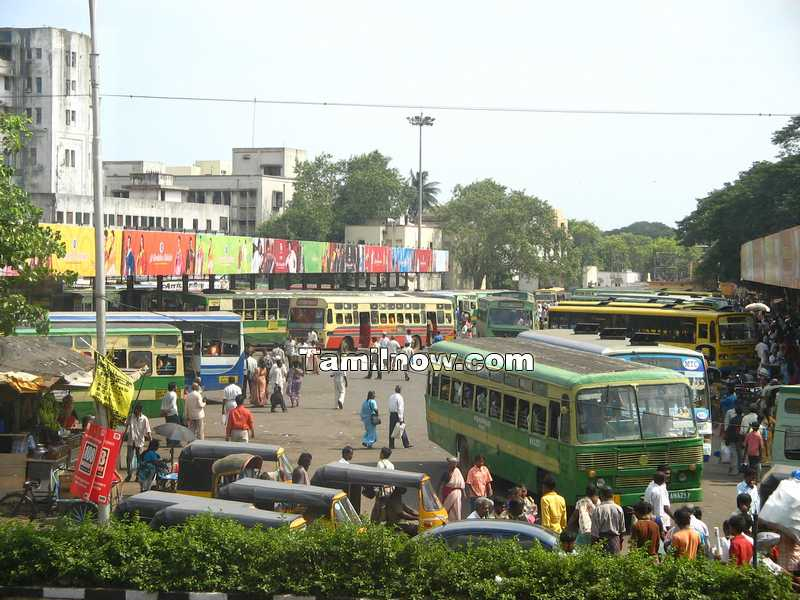 Crowded parrys bus terminus