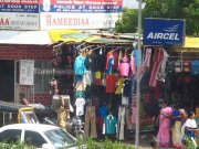 Road side shopping at parrys