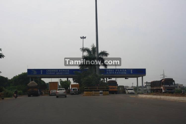 Chennai bypass tollplaza at porur