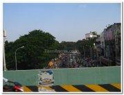 Pondy bazar from tnagar flyover