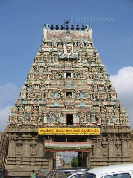 Thiruvotriyur gopuram 3