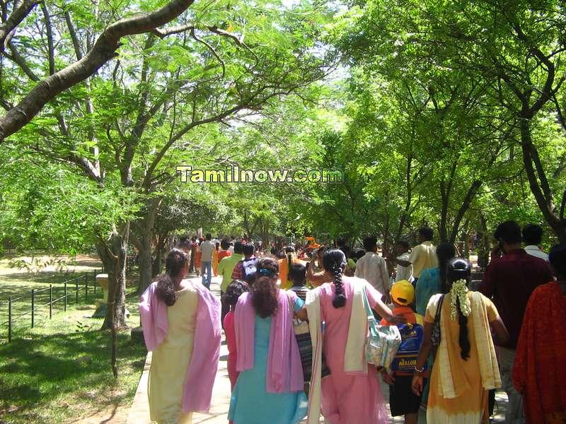 Arinagar anna zoological park entrance