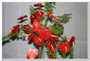 Ikebana flower arrangement 4