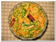 Beans carrot poriyal