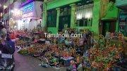 Navaratri golu display at mylapore north mada street