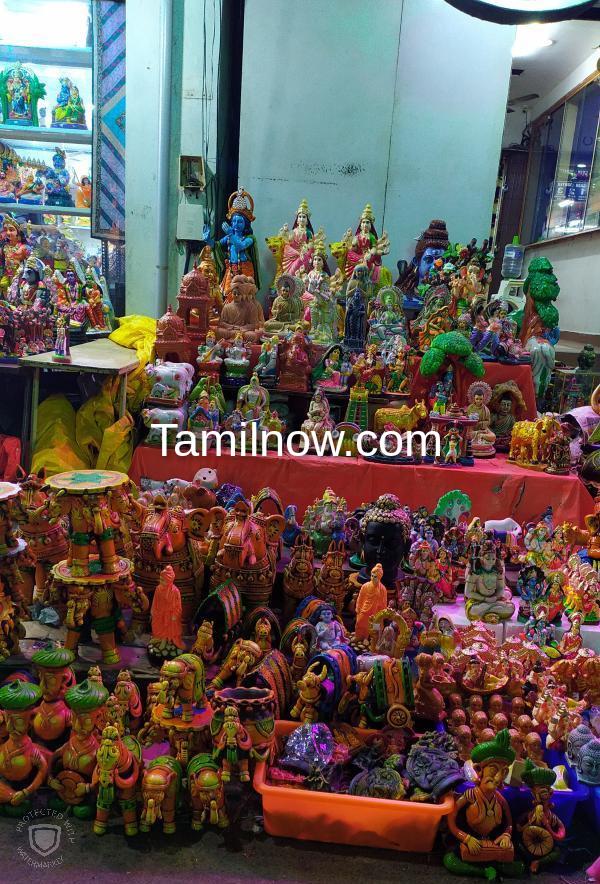 Navaratri golu display mylapore