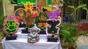 Ganesh chathurthi craft vinayagas at velammal main school 776