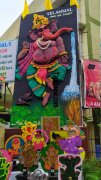 Ganesh chathurthicolourful sponge vinayaga at velammal main school 200