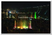Colourful musical dancing fountains photos 4