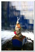 Lord siva idol fountain