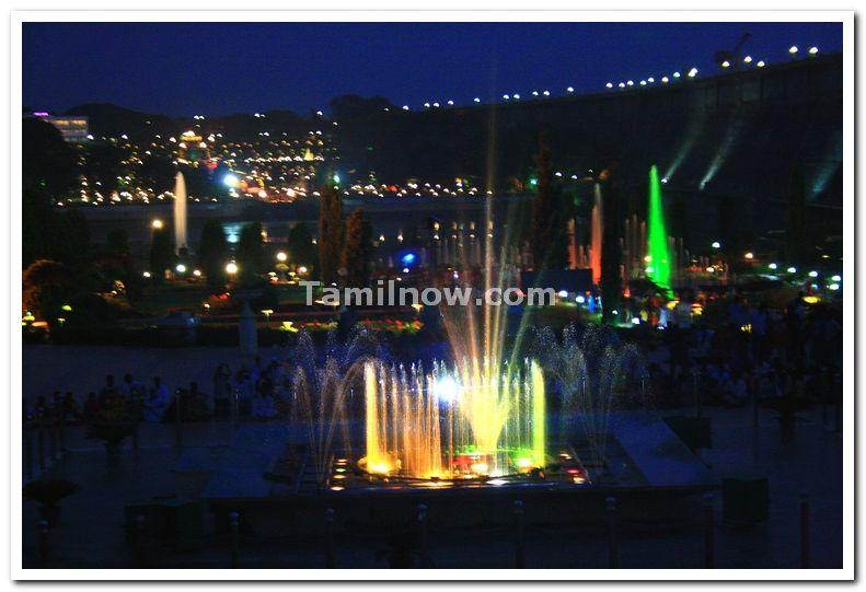 Musical fountains at brindavan gardens 2