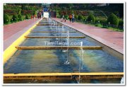 Mysore brindavan gardens fountains 3