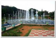 Mysore brindavan gardens north fountains 4