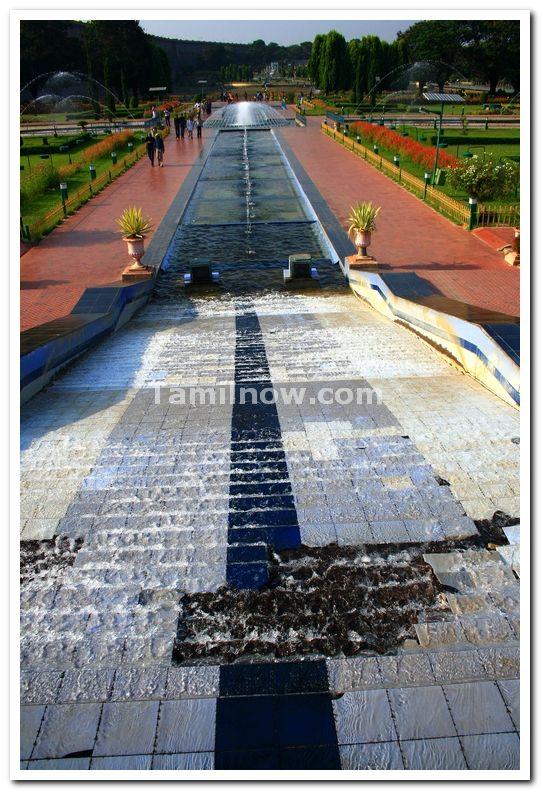 Water for brindavan fountains 1
