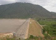Gundaal dam top view
