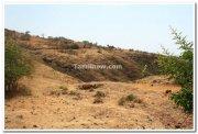 Dandoba hills during summer