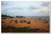 Goa calangute beach evening still 2