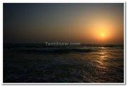 Sunset at majorda beach goa 2