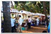 Vendors at miramar beach goa
