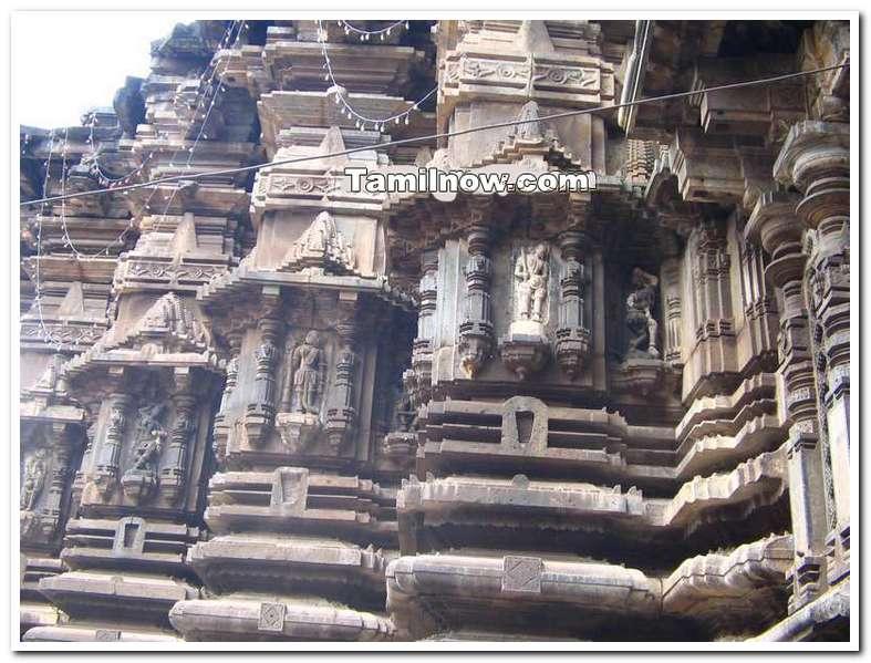 Kolhapur temple rock structures