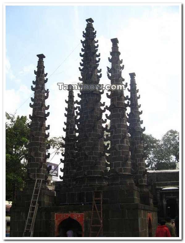 Kolhapur temple structures