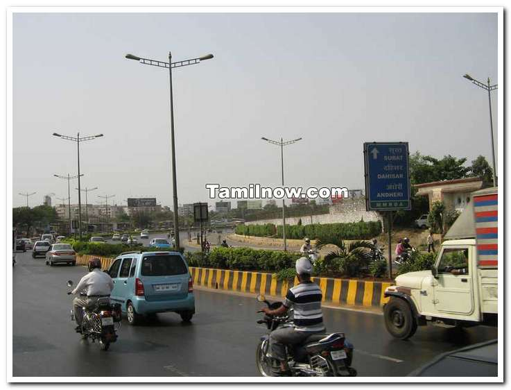Mumbai western expressway