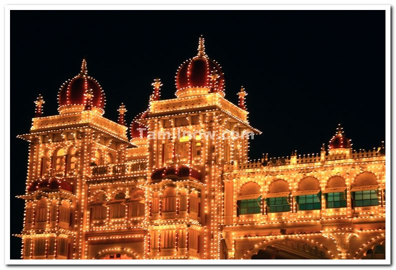 Dome of mysore palace