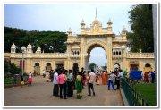 Mysore ambavilas palace entrance