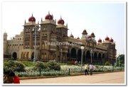 Mysore palace during daytime