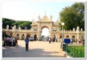 Mysore palace entrance
