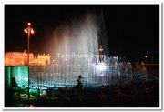 Mysore palace fountains