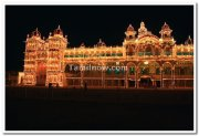Mysore palace lightings